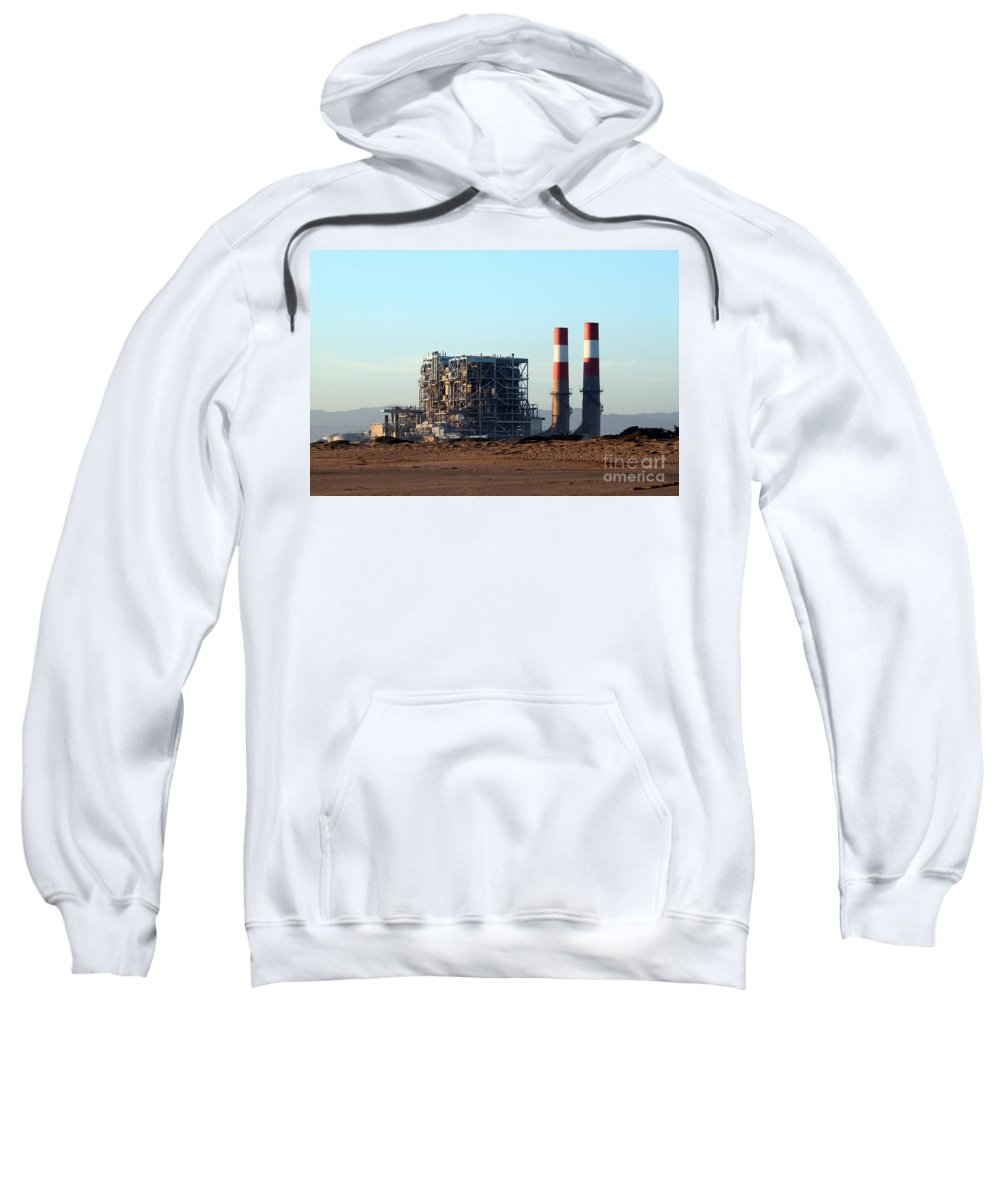 Industry Sweatshirt featuring the photograph Power Station by Henrik Lehnerer