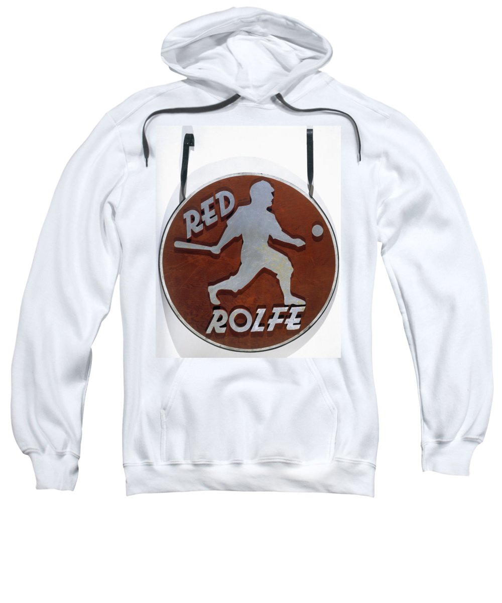 1930s Sweatshirt featuring the photograph Red Rolfe (1908-1969) by Granger