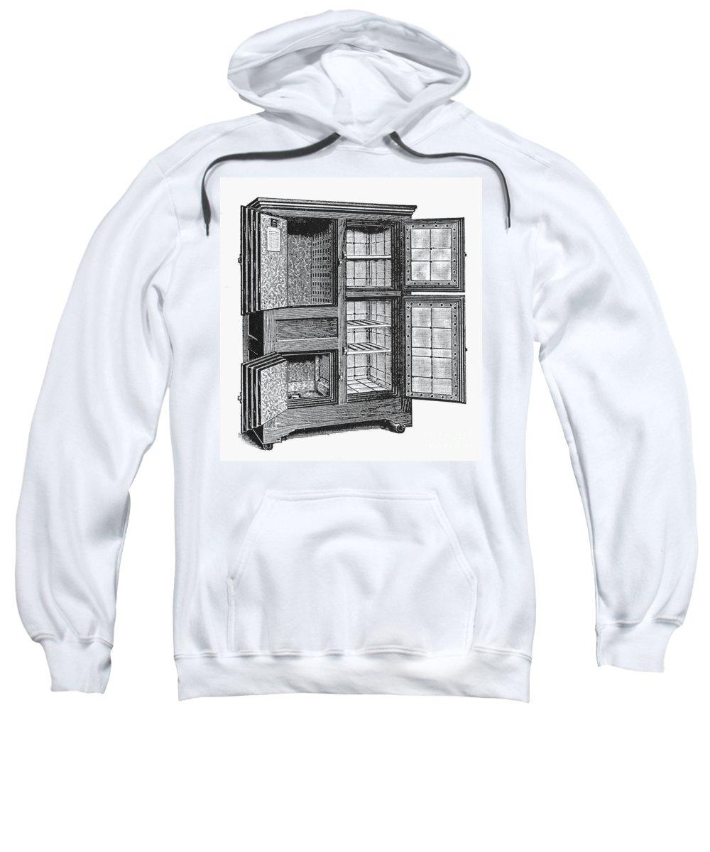 20th Century Sweatshirt featuring the photograph Refrigerator, C1900 by Granger