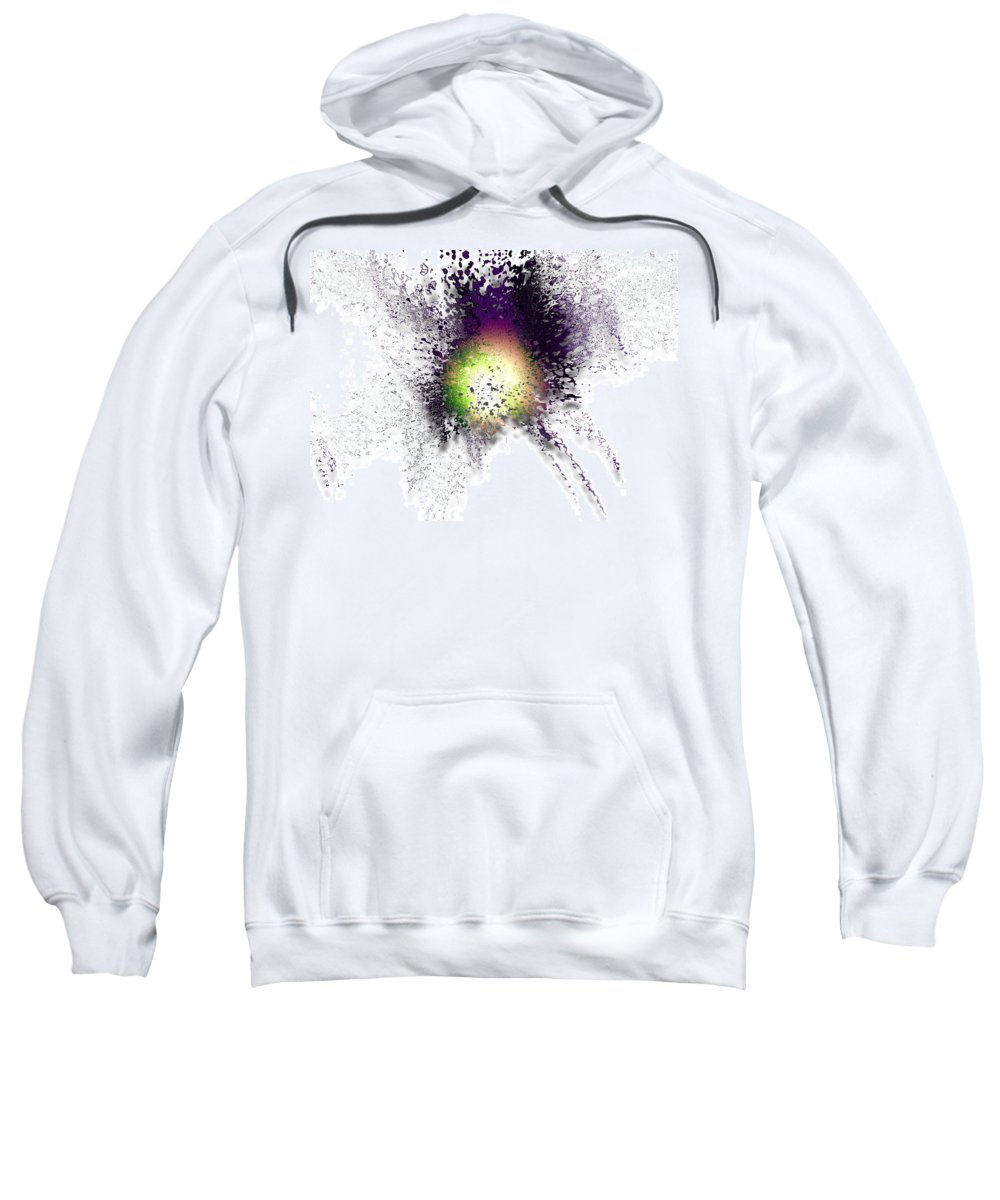 Digital Abstract Sweatshirt featuring the digital art Release Me by Gary Yates