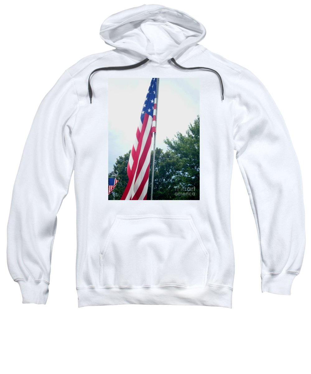 Landscapes Sweatshirt featuring the photograph Remembering 9-11 by April Patterson