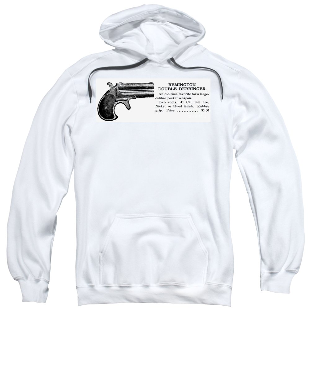 20th Century Sweatshirt featuring the photograph Remington Double Derringer by Granger