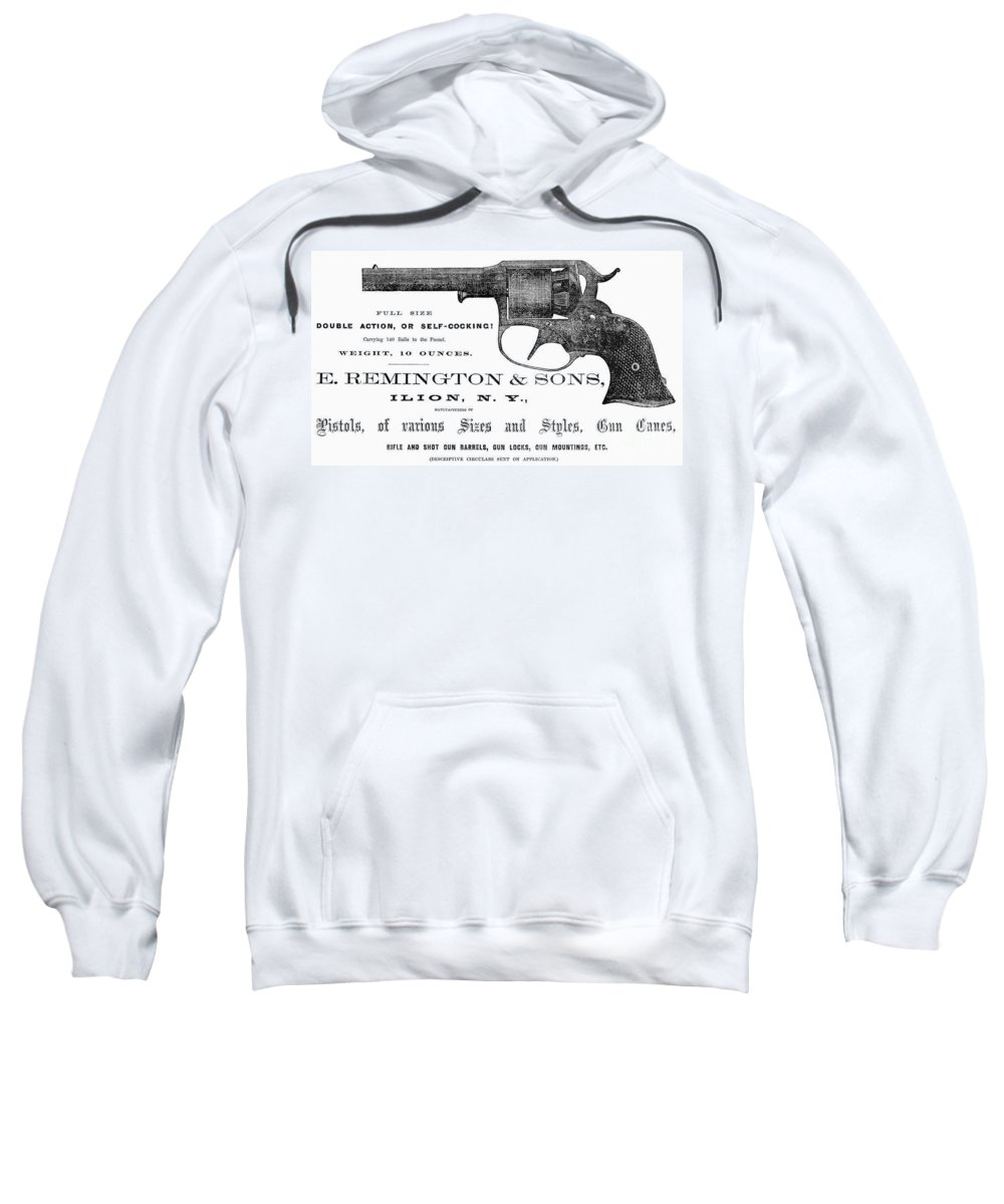 19th Century Sweatshirt featuring the photograph Remington Revolver by Granger