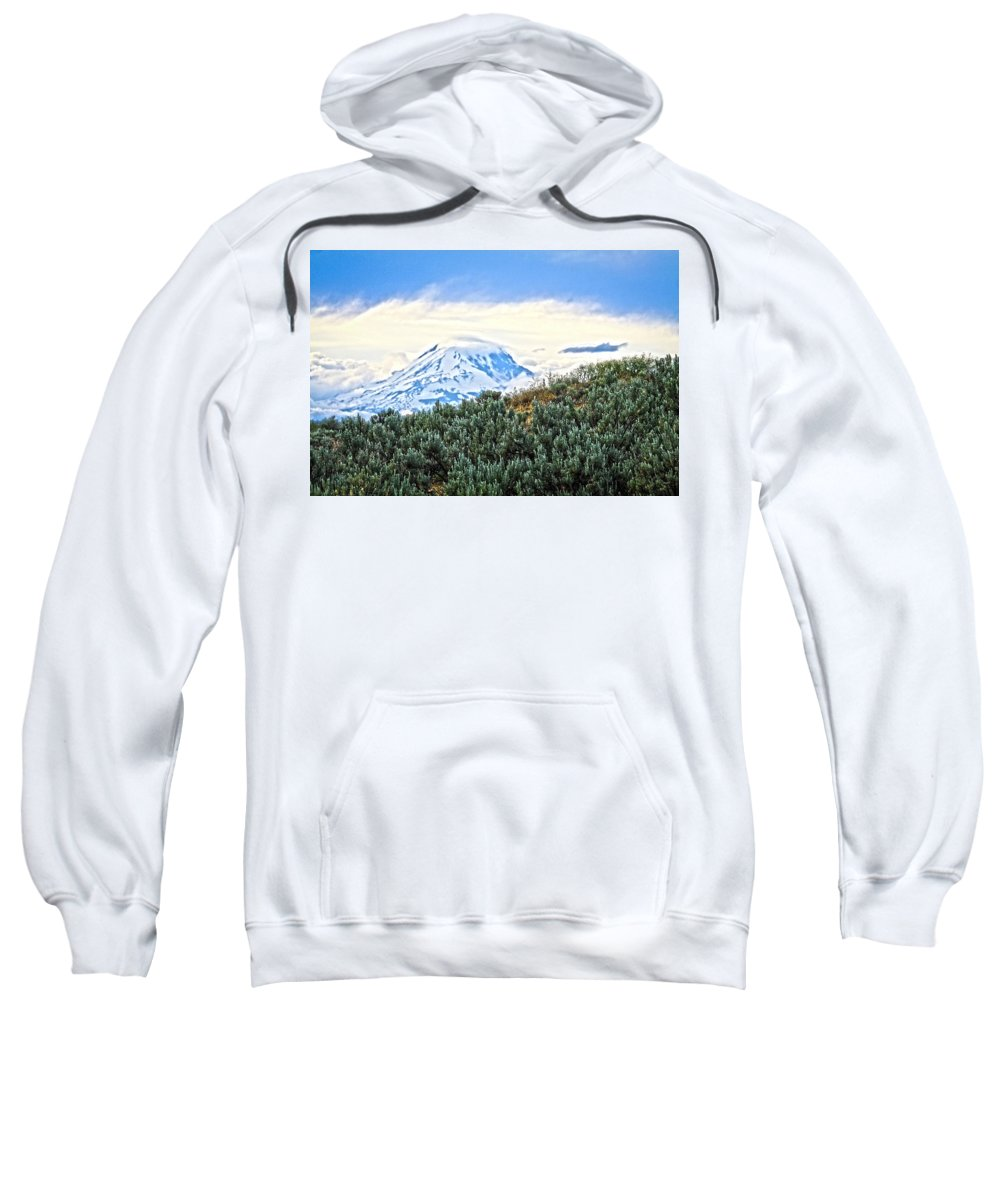 Mountains Sweatshirt featuring the photograph Sage Mountain by Steve McKinzie