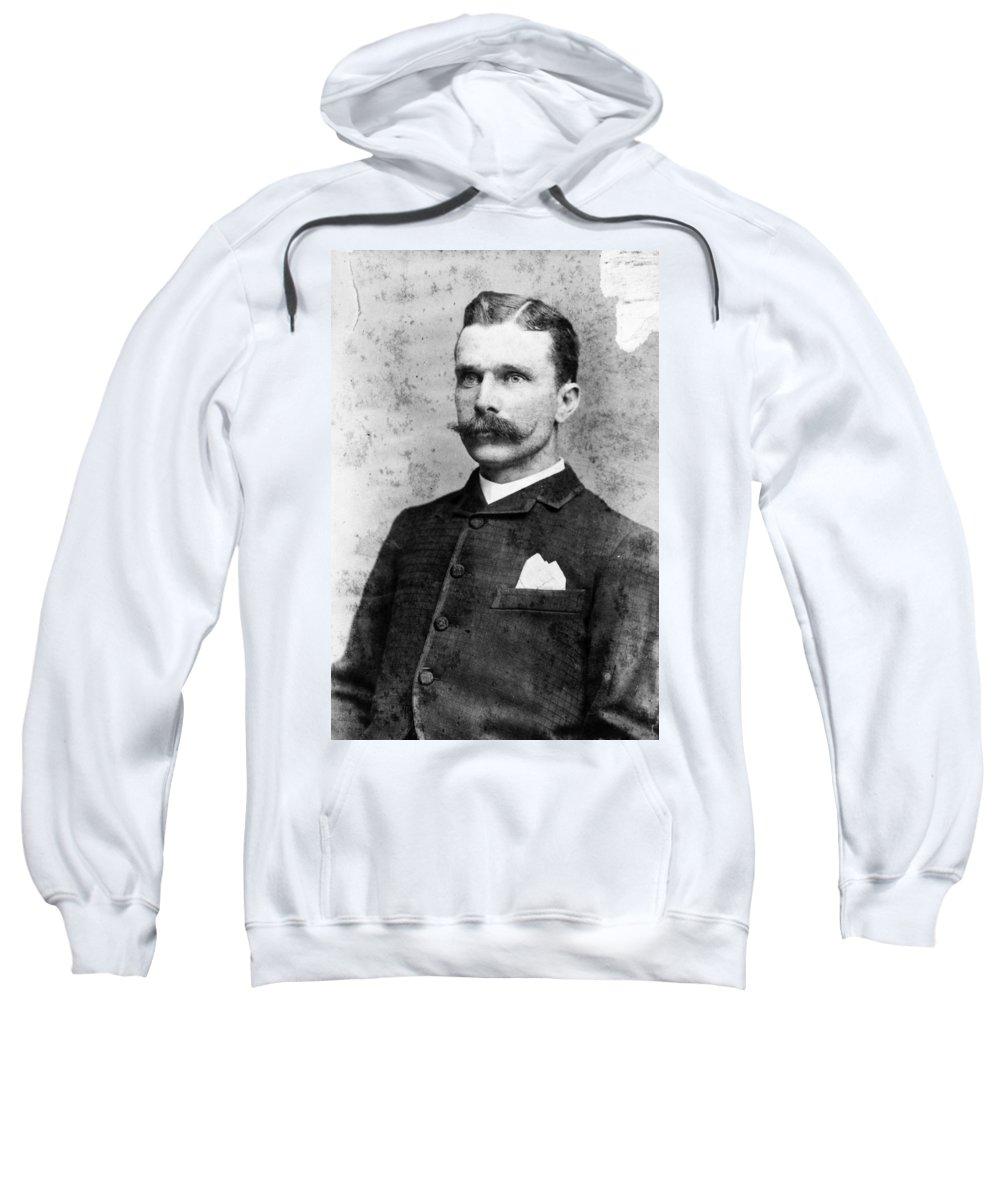 19th Century Sweatshirt featuring the photograph Samuel Bass (1851-1878) by Granger