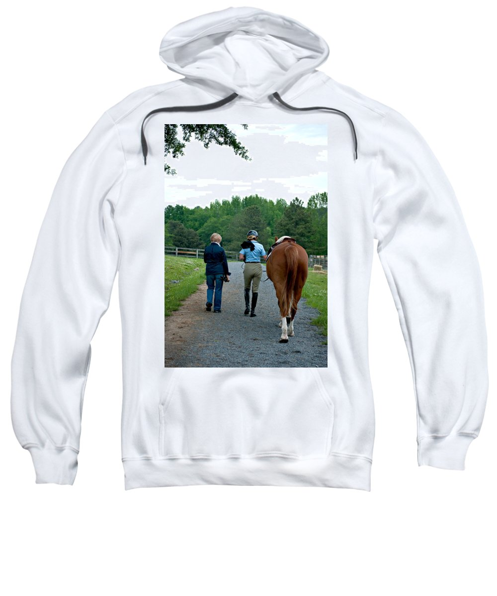 Sweatshirt featuring the photograph Sc-055-12 by Paulette B Wright