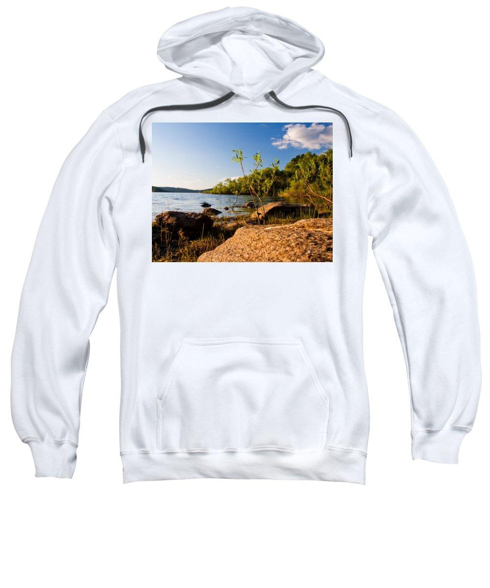 Lake Sweatshirt featuring the photograph Serenity by Frank Pietlock