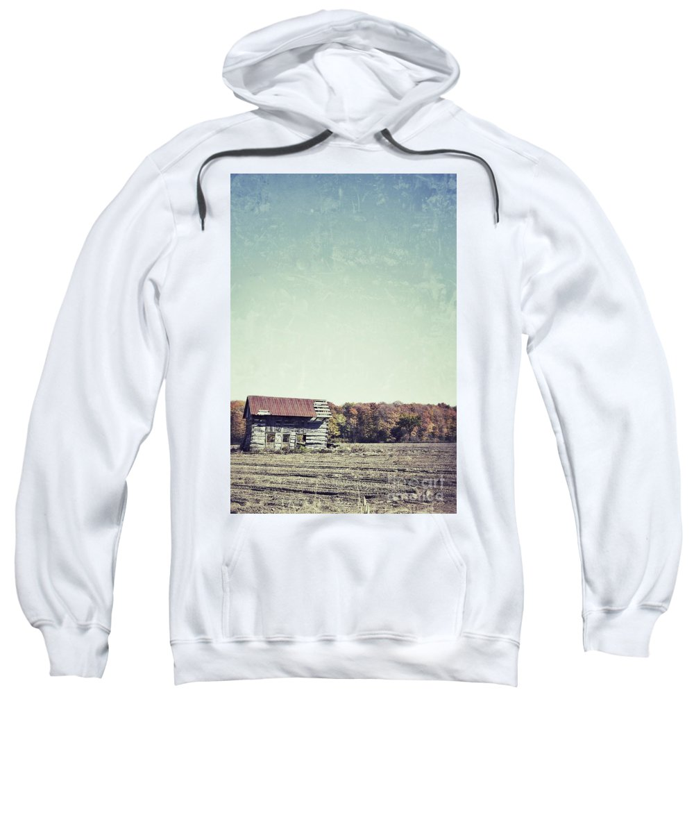 Shack Sweatshirt featuring the photograph Shackn Up by Traci Cottingham