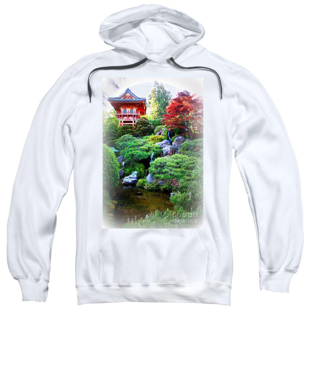 San Francisco Sweatshirt featuring the photograph Shangri-la In San Francisco by Carol Groenen