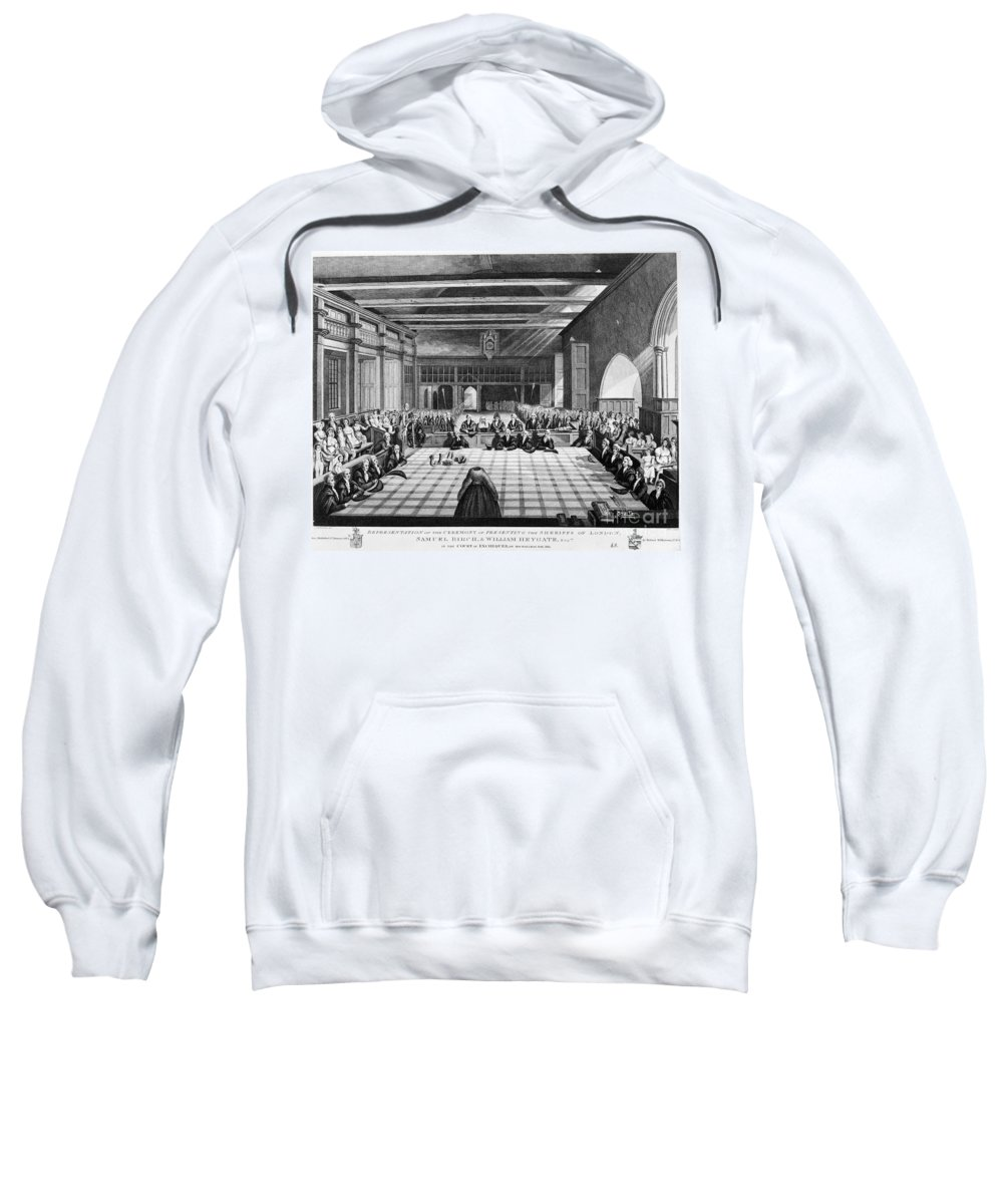 1811 Sweatshirt featuring the photograph Sheriffs Of London, 1811 by Granger