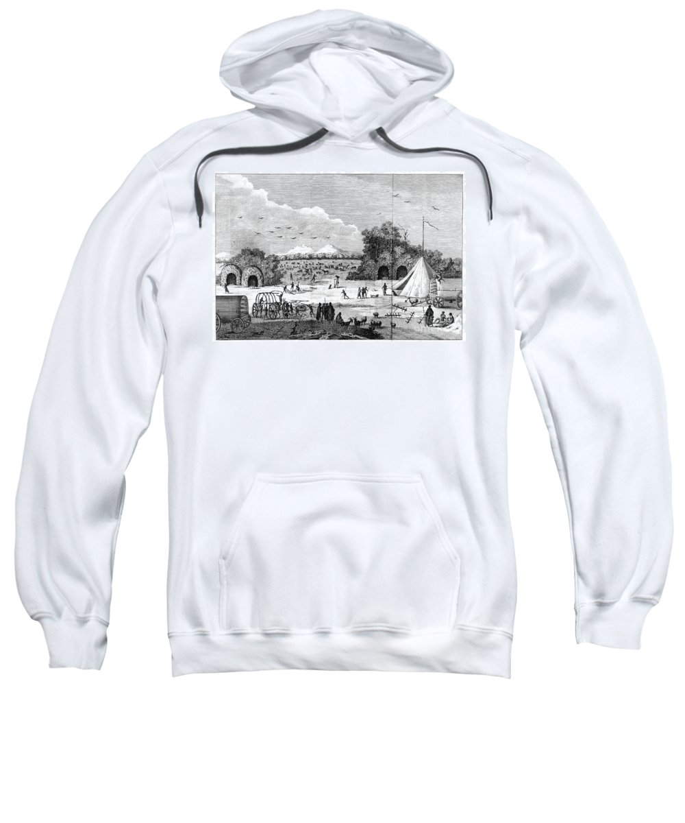 1790 Sweatshirt featuring the photograph South Africa, C1780 by Granger