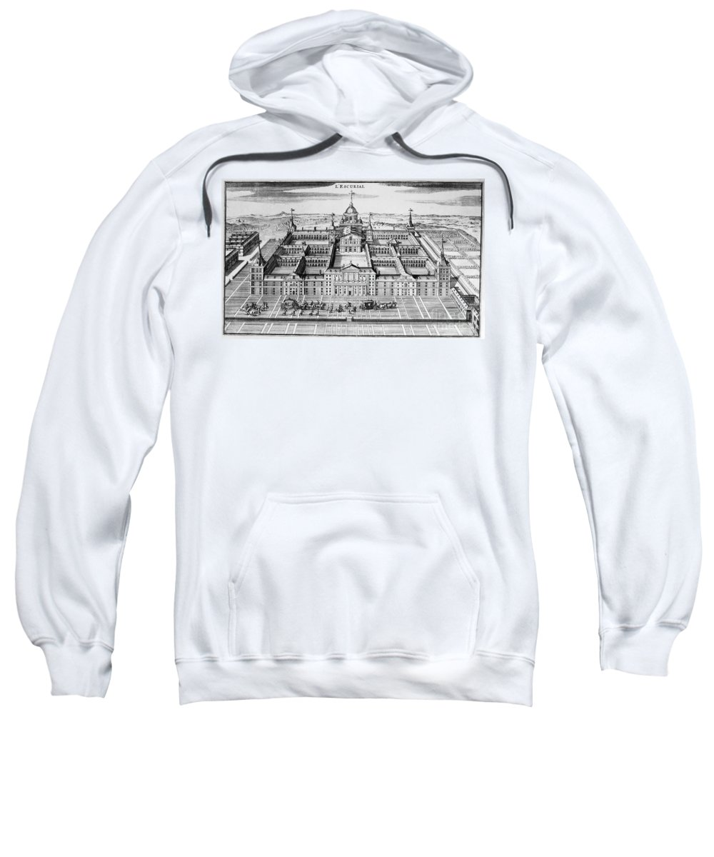 18th Century Sweatshirt featuring the photograph Spain: El Escorial by Granger