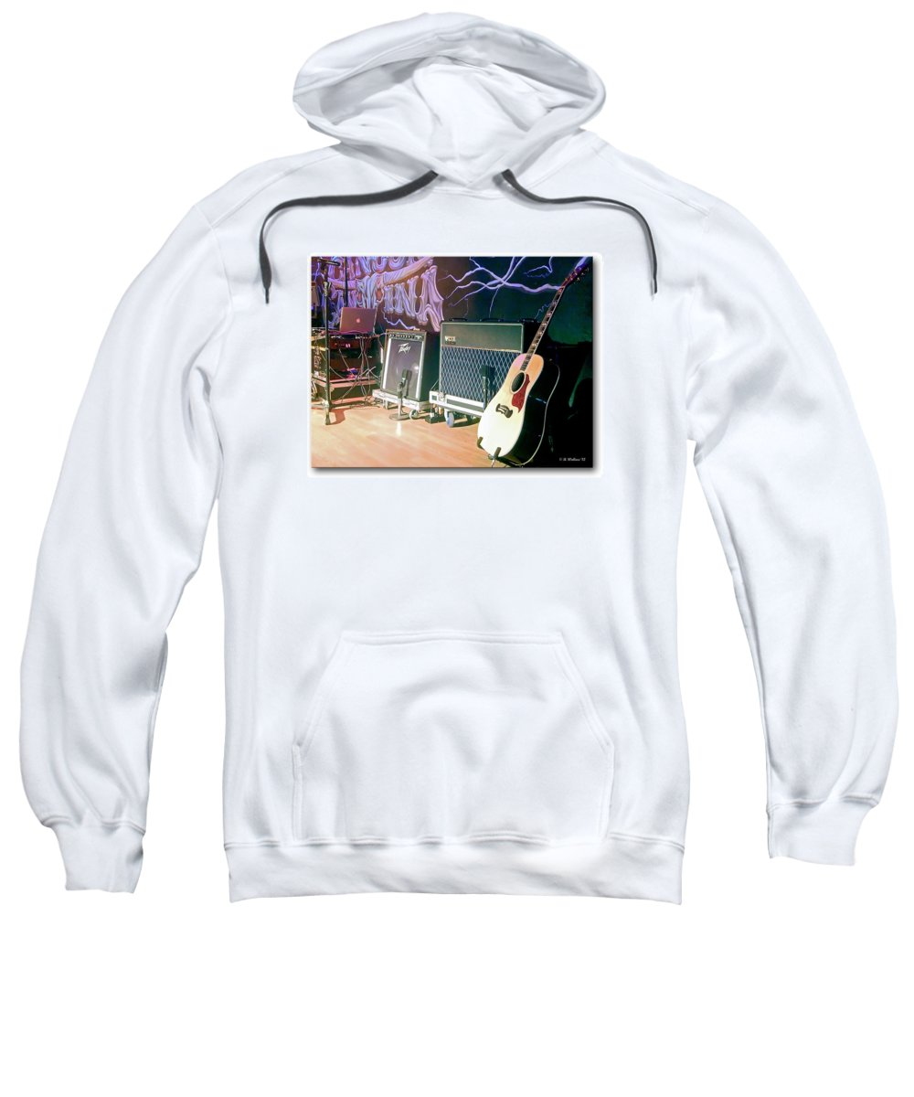 2d Sweatshirt featuring the photograph Stage Set by Brian Wallace