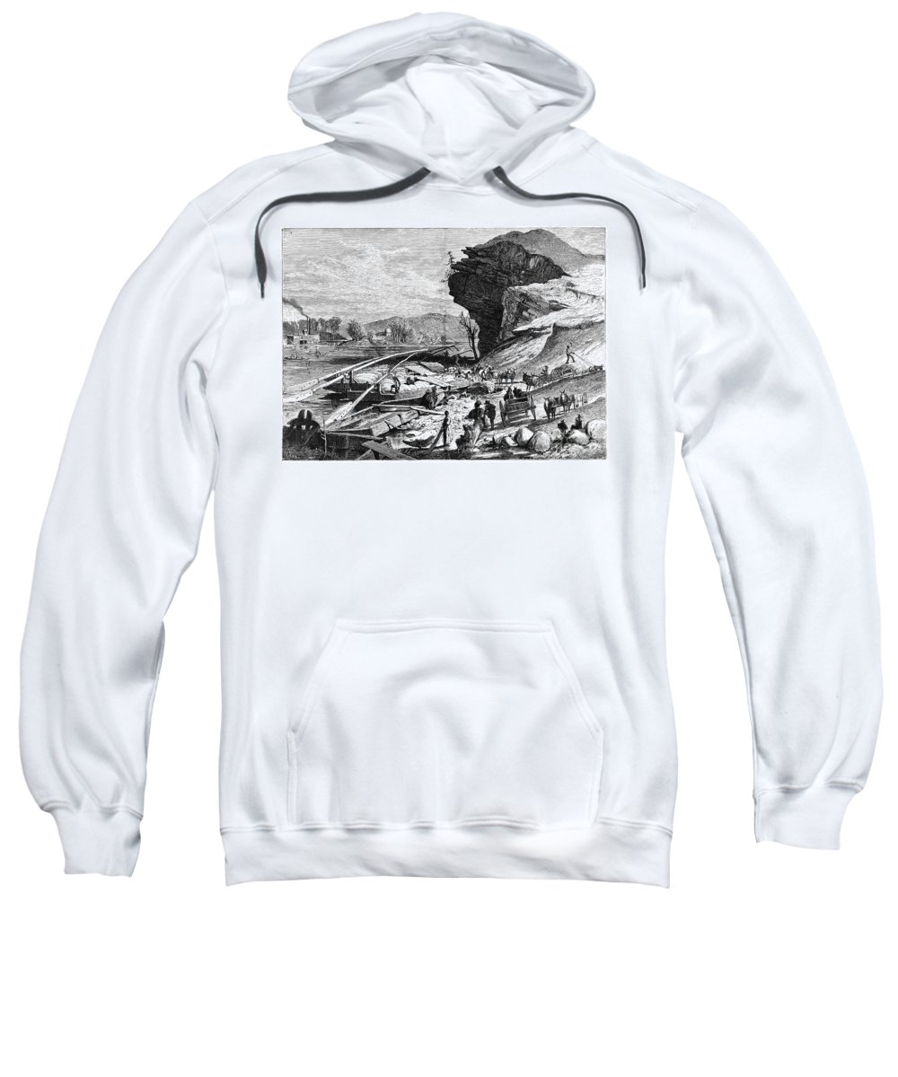 19th Century Sweatshirt featuring the photograph Tennessee: Chattanooga by Granger