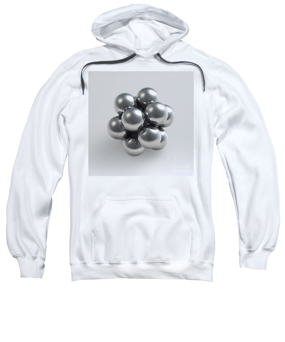 Sphere Sweatshirt featuring the photograph The Closest Possible Packing Of Spheres by Raul Gonzalez Perez