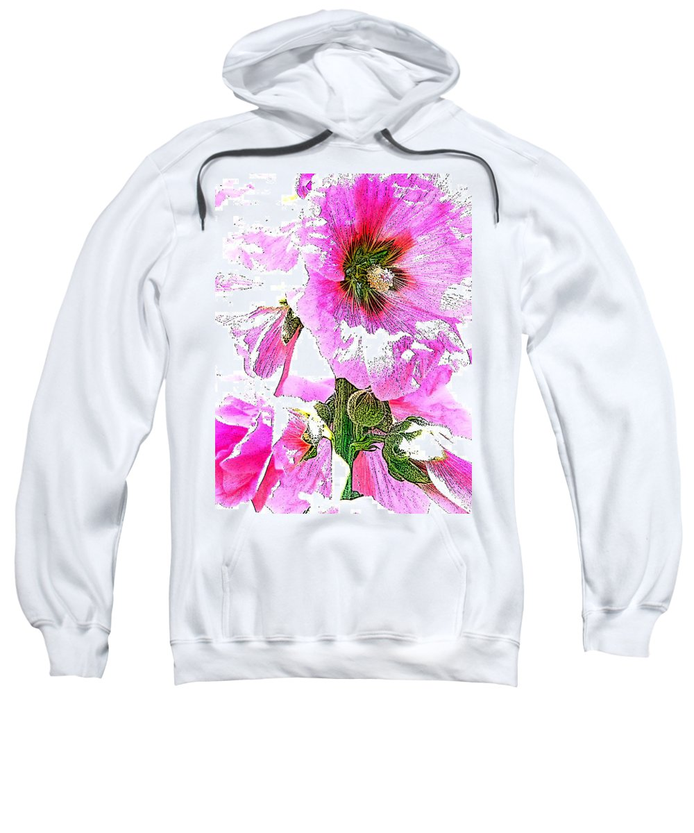Flower Sweatshirt featuring the photograph 10989 The Colour Of Summer by Colin Hunt