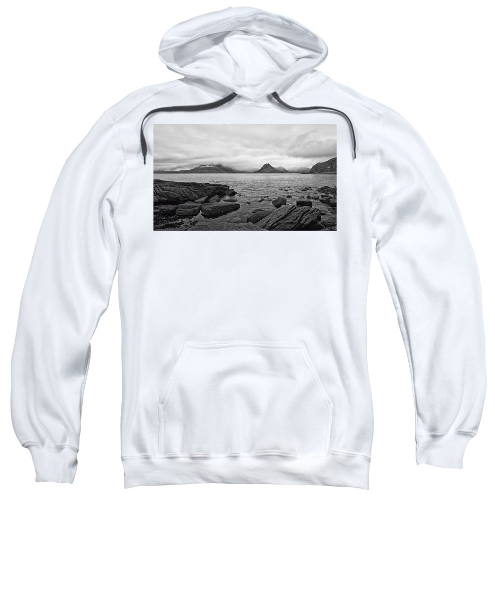 Cuillins Sweatshirt featuring the photograph The Cuillin's In The Mist by Chris Thaxter