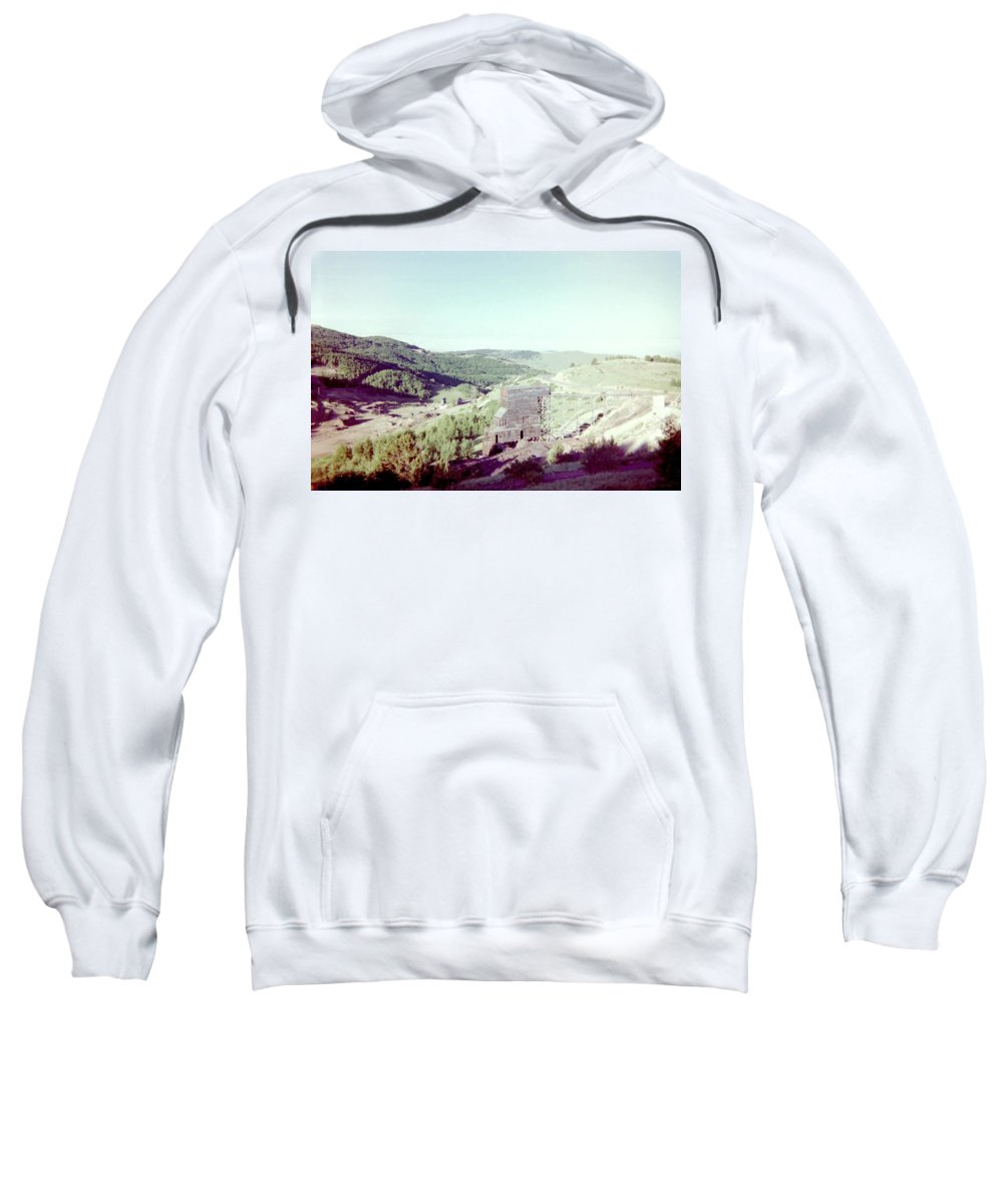Gold Sweatshirt featuring the photograph The Mine by Bonfire Photography