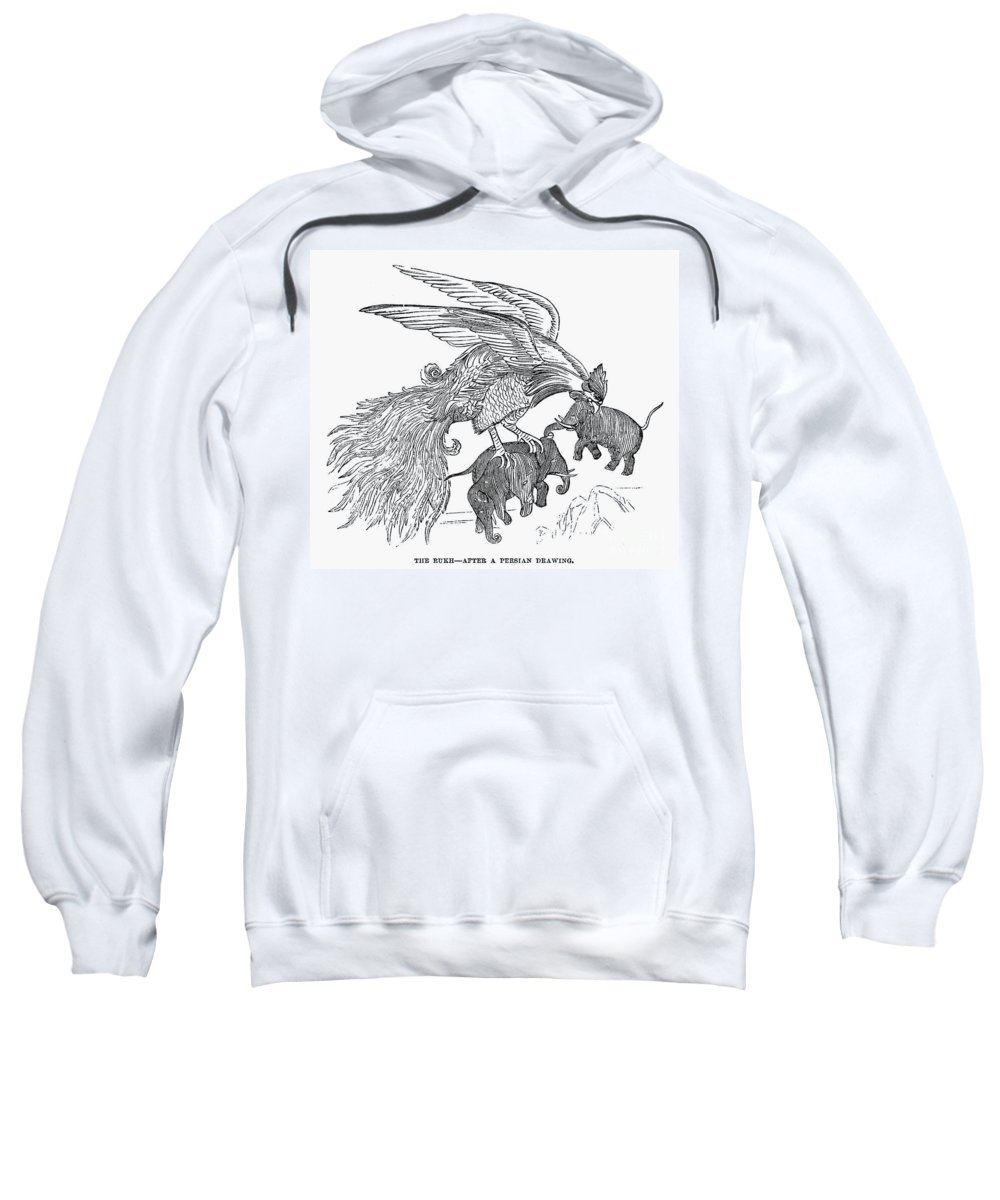 13th Century Sweatshirt featuring the photograph The Roc by Granger