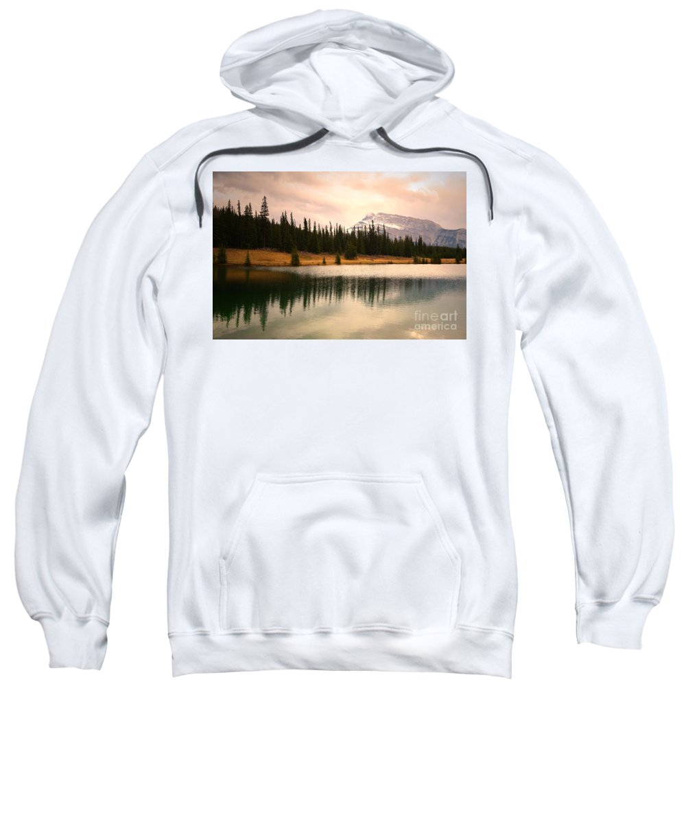 Banff Sweatshirt featuring the photograph The Sparkle by Tara Turner