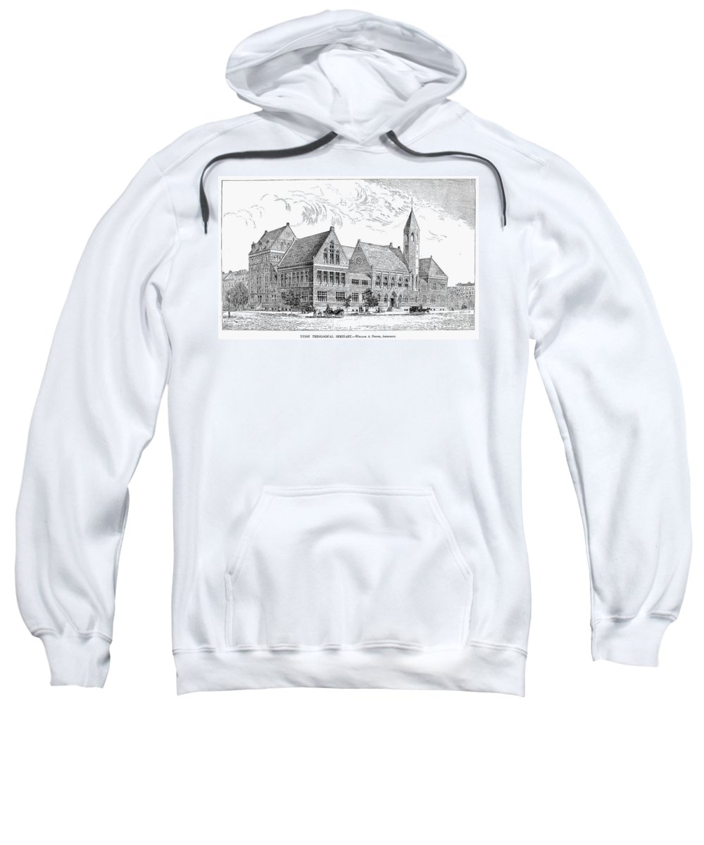 1884 Sweatshirt featuring the photograph Theological Seminary, 1884 by Granger