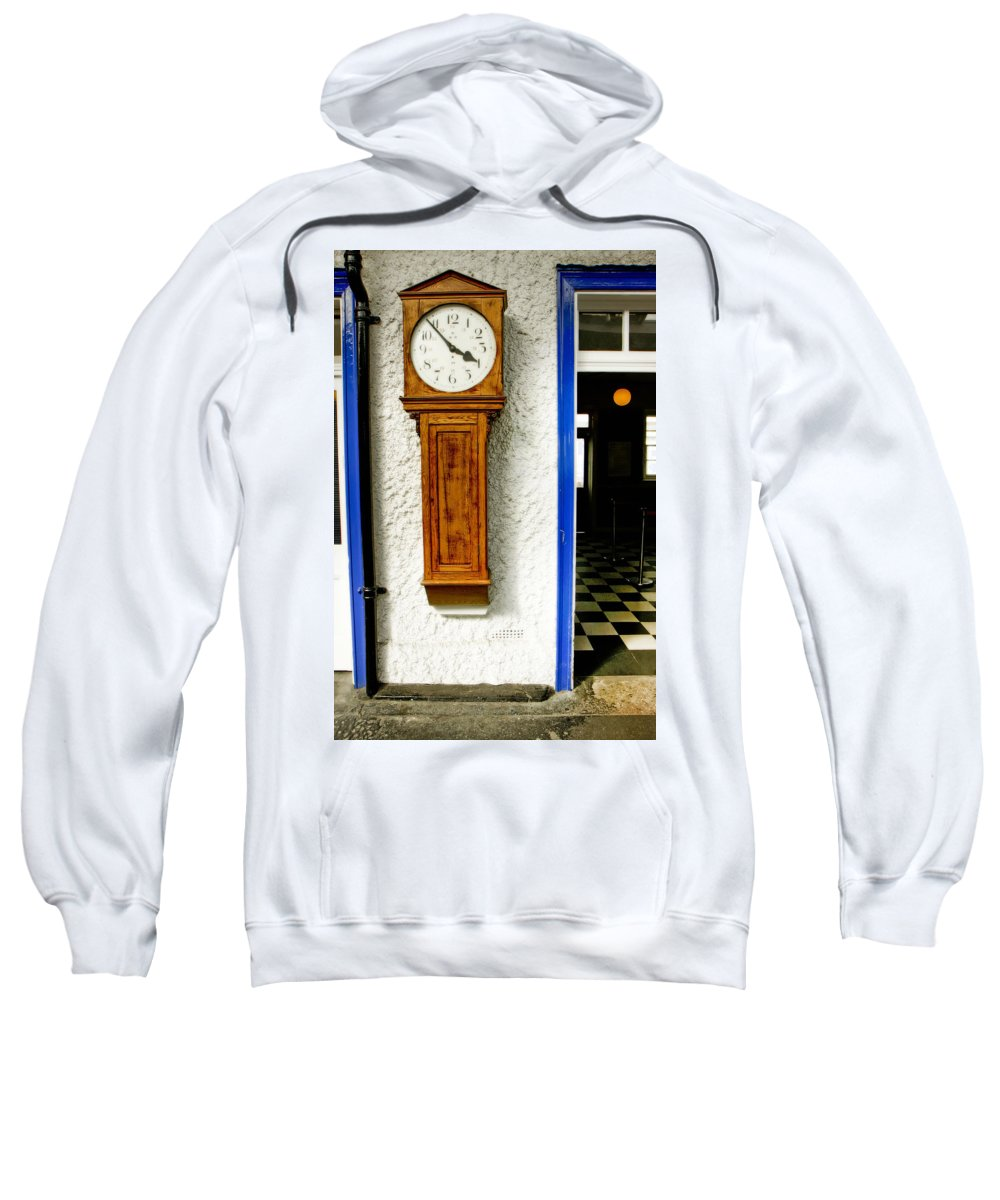 Kg Sweatshirt featuring the photograph Three Fifty Four In Ryde by KG Thienemann