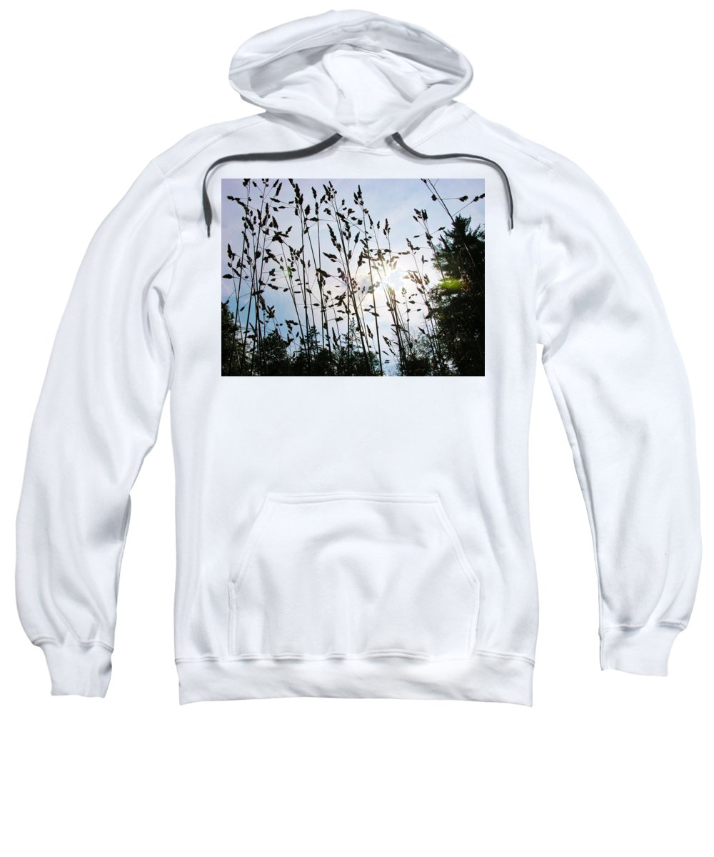 Grass Sweatshirt featuring the photograph Time To Mow by Sherman Perry