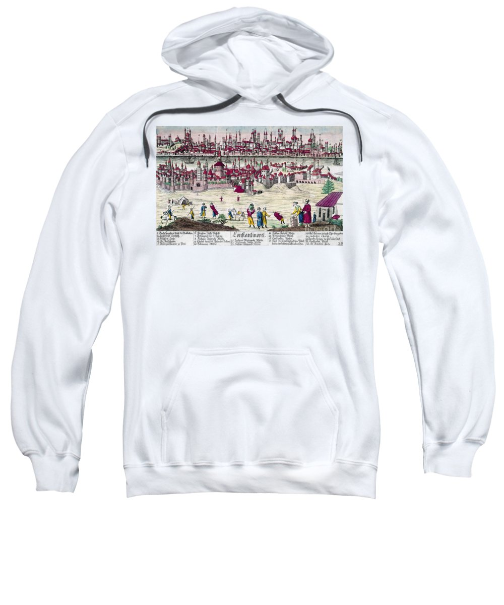 1820s Sweatshirt featuring the photograph Turkey: Istanbul, C1820s by Granger