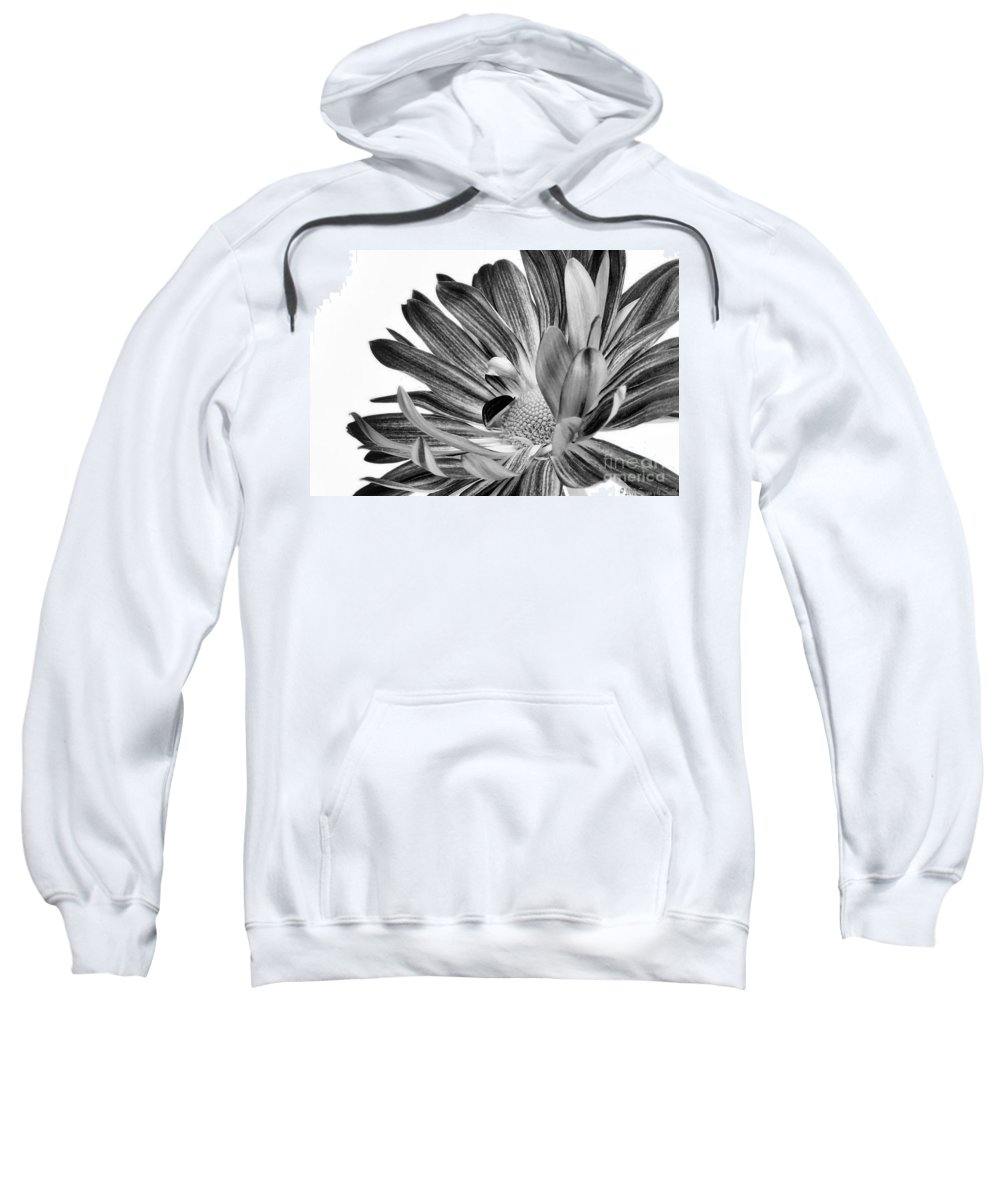 Flower Sweatshirt featuring the photograph Uplifting by Susan Smith
