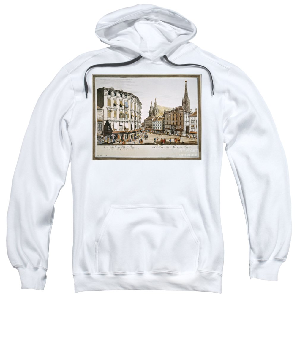 1779 Sweatshirt featuring the photograph Vienna, 1779 by Granger