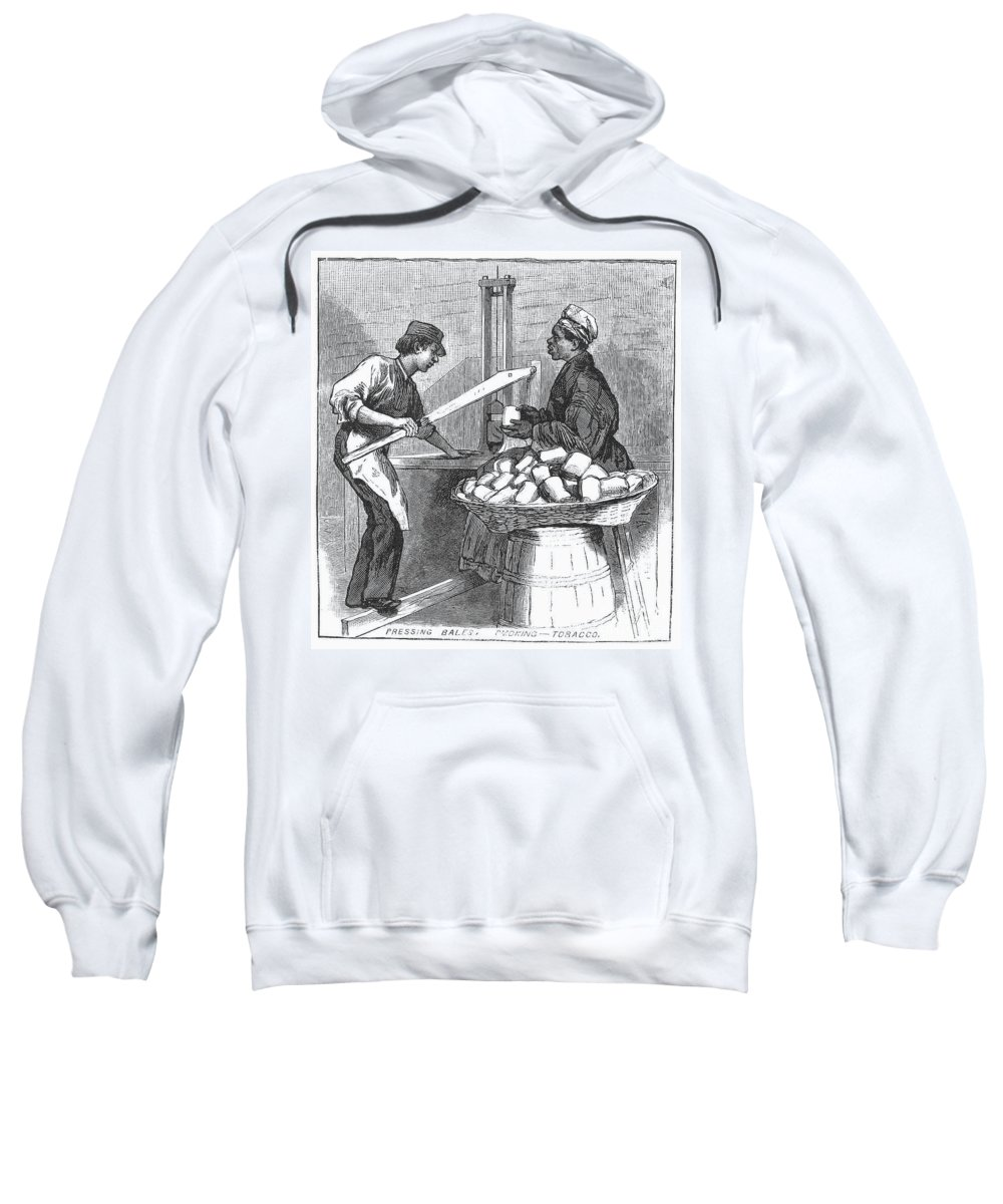 1879 Sweatshirt featuring the photograph Virginia: Tobacco, 1879 by Granger