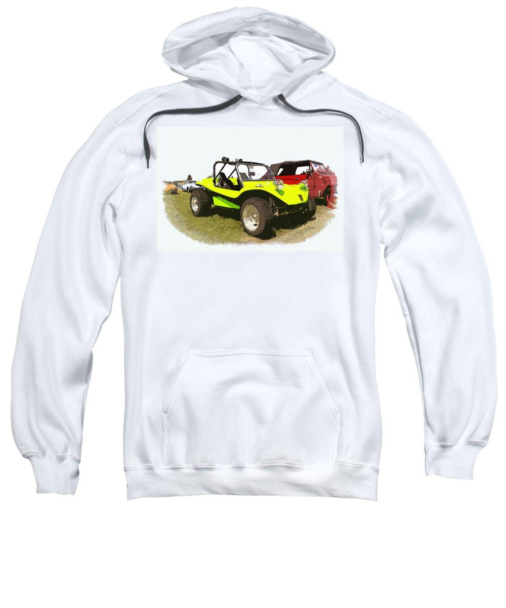Volkswagen Sweatshirt featuring the photograph Vw Manx by Steve McKinzie