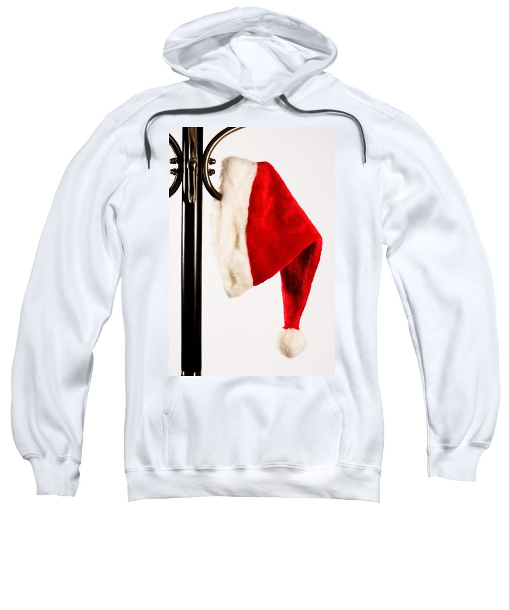 Fun Sweatshirt featuring the photograph Waiting For Christmas Day by Diane Macdonald