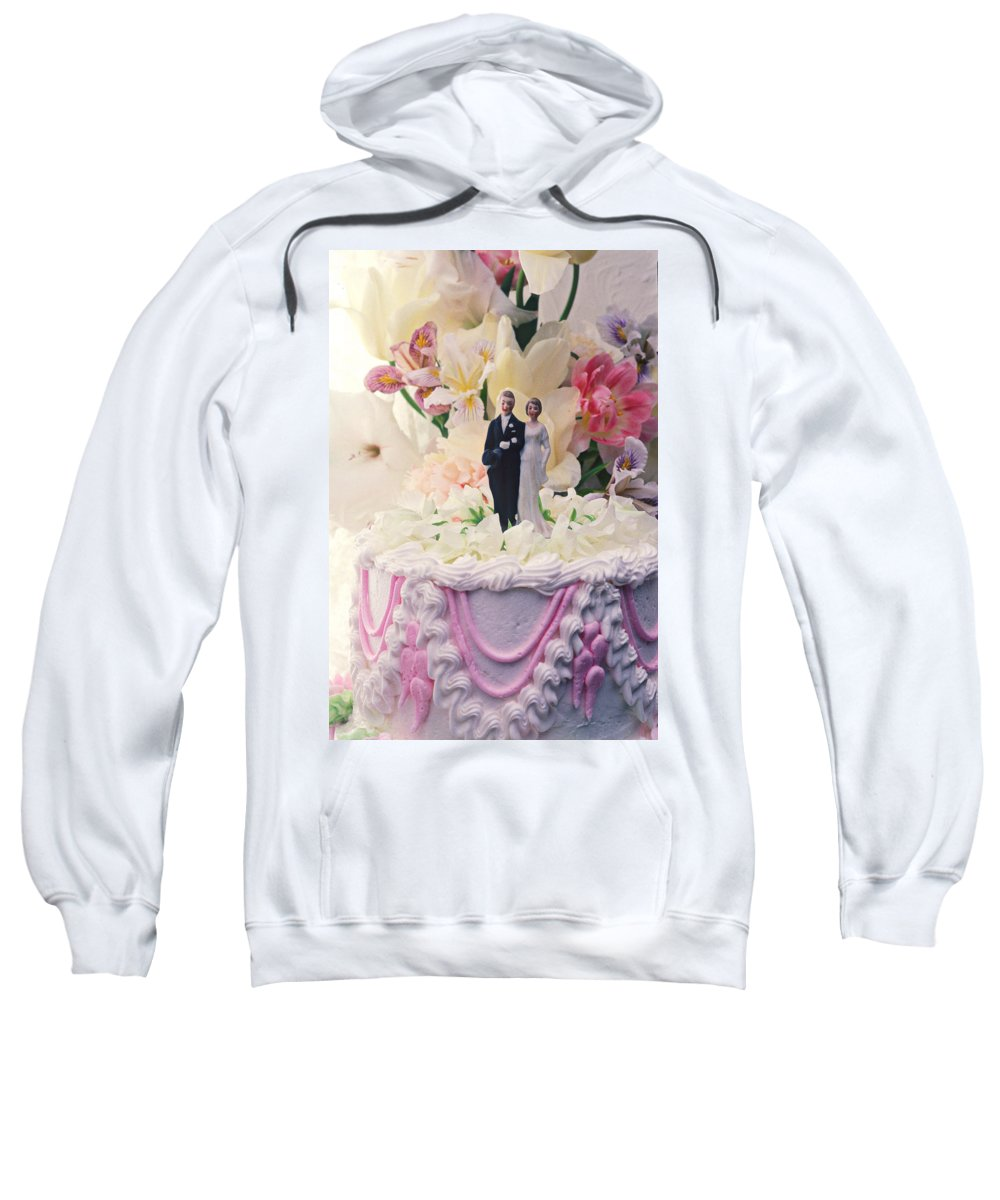 Wedding Sweatshirt featuring the photograph Wedding Cake by Garry Gay