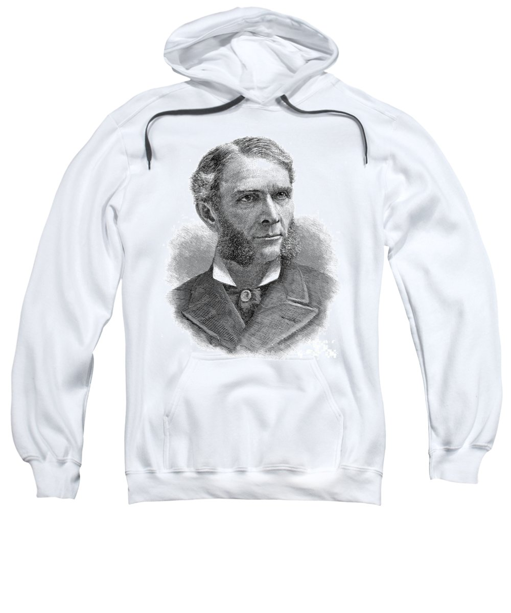 1889 Sweatshirt featuring the photograph William D. Washburn by Granger
