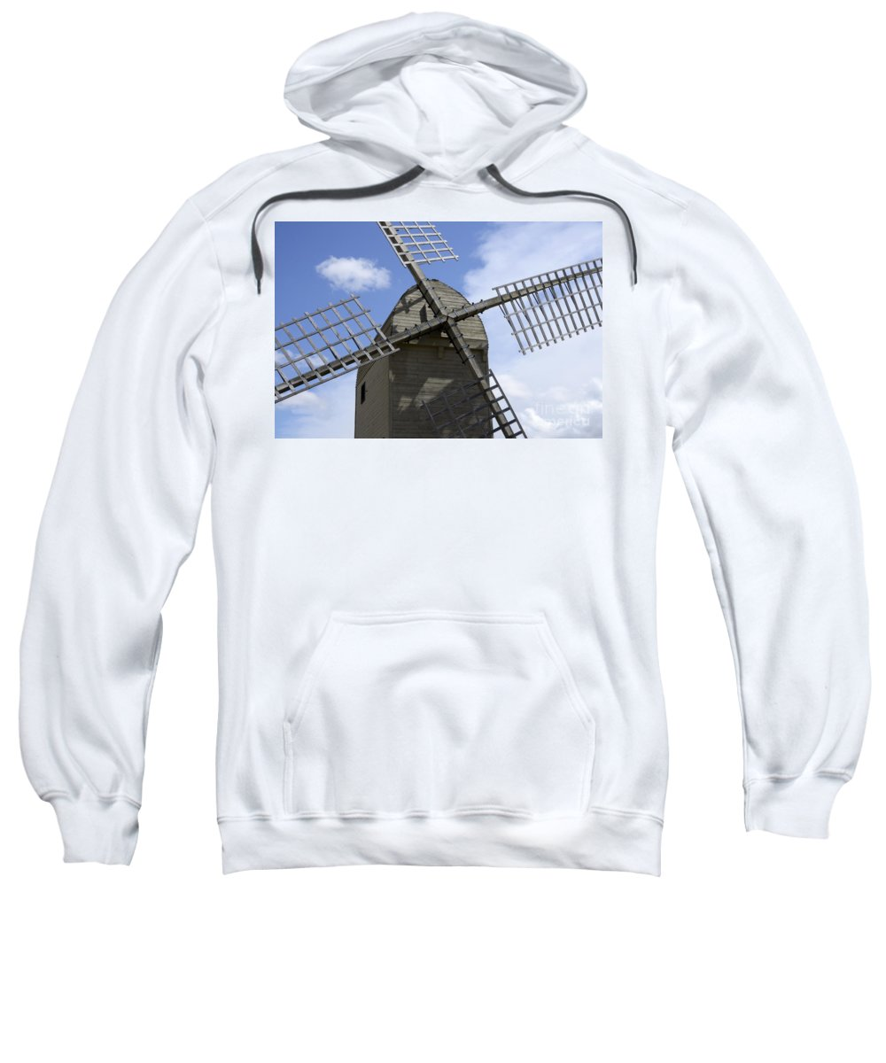Windmill Sweatshirt featuring the photograph Windmill 10 by Bob Christopher