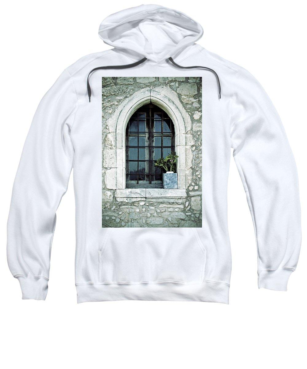 Windows Sweatshirt featuring the photograph Window Of A Chapel by Joana Kruse