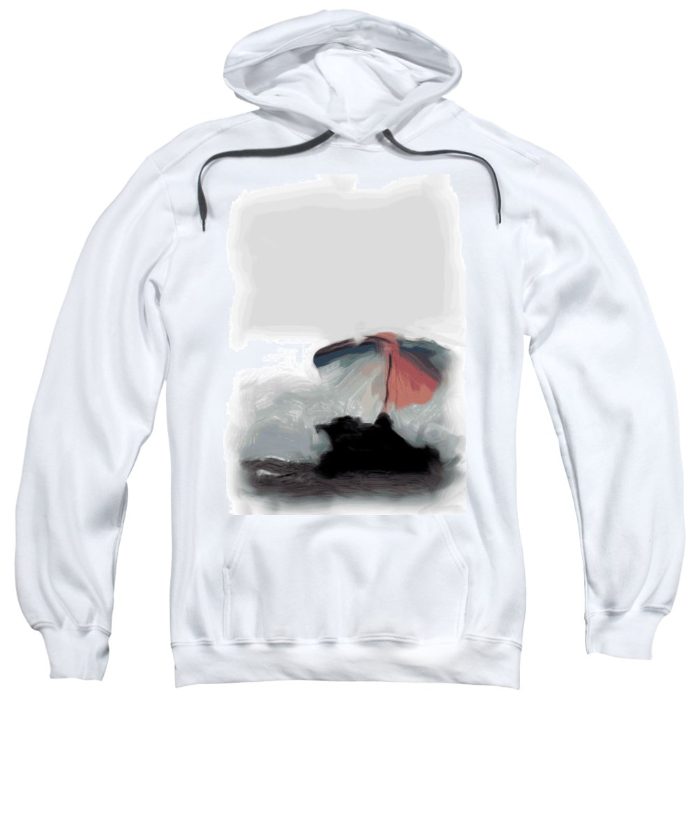 Umbrella Sweatshirt featuring the photograph Wishing I Was There by Trish Tritz