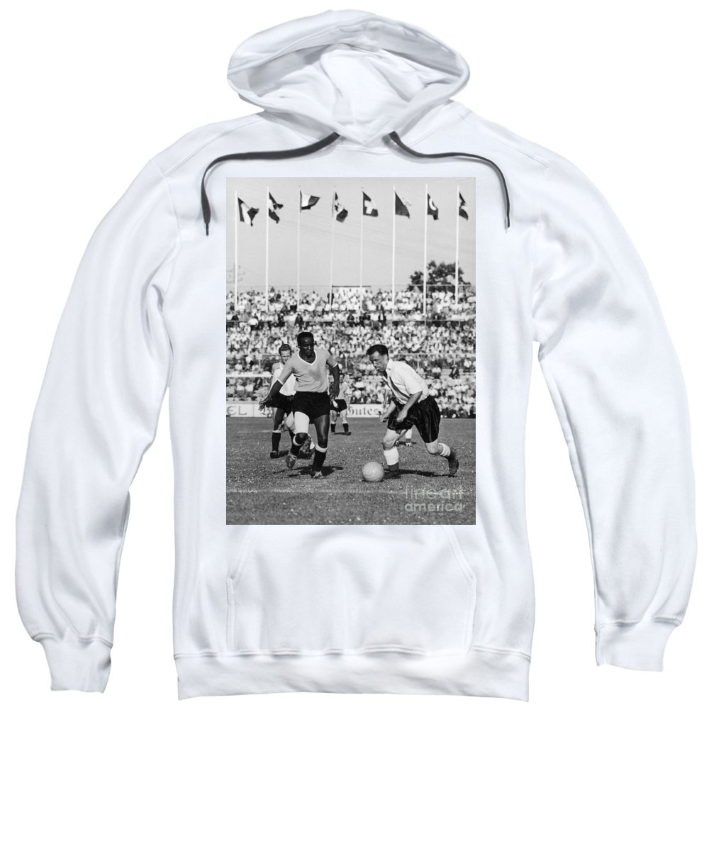 1954 Sweatshirt featuring the photograph World Cup, 1954 by Granger