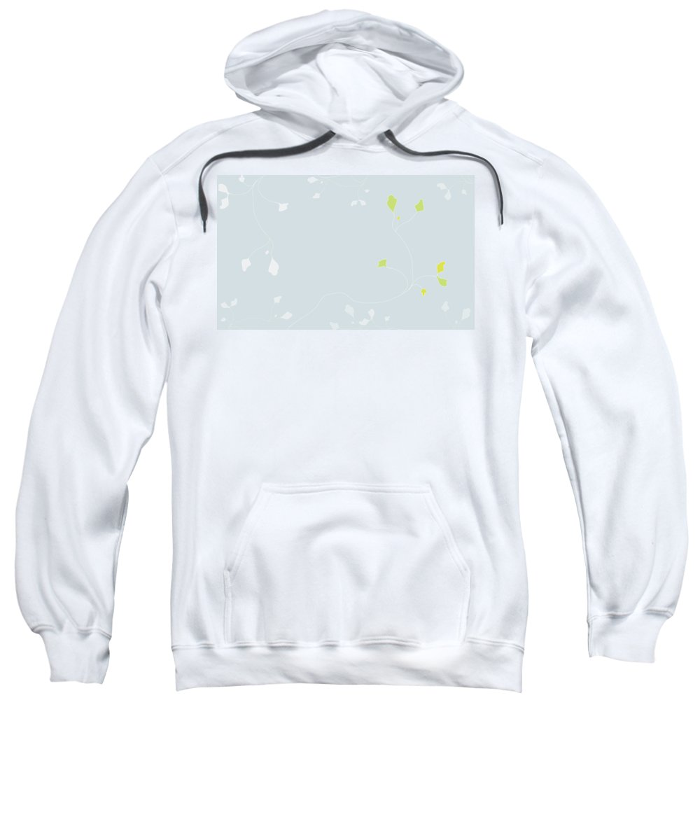 Poppy Sweatshirt featuring the digital art Young Poppy by Kevin McLaughlin