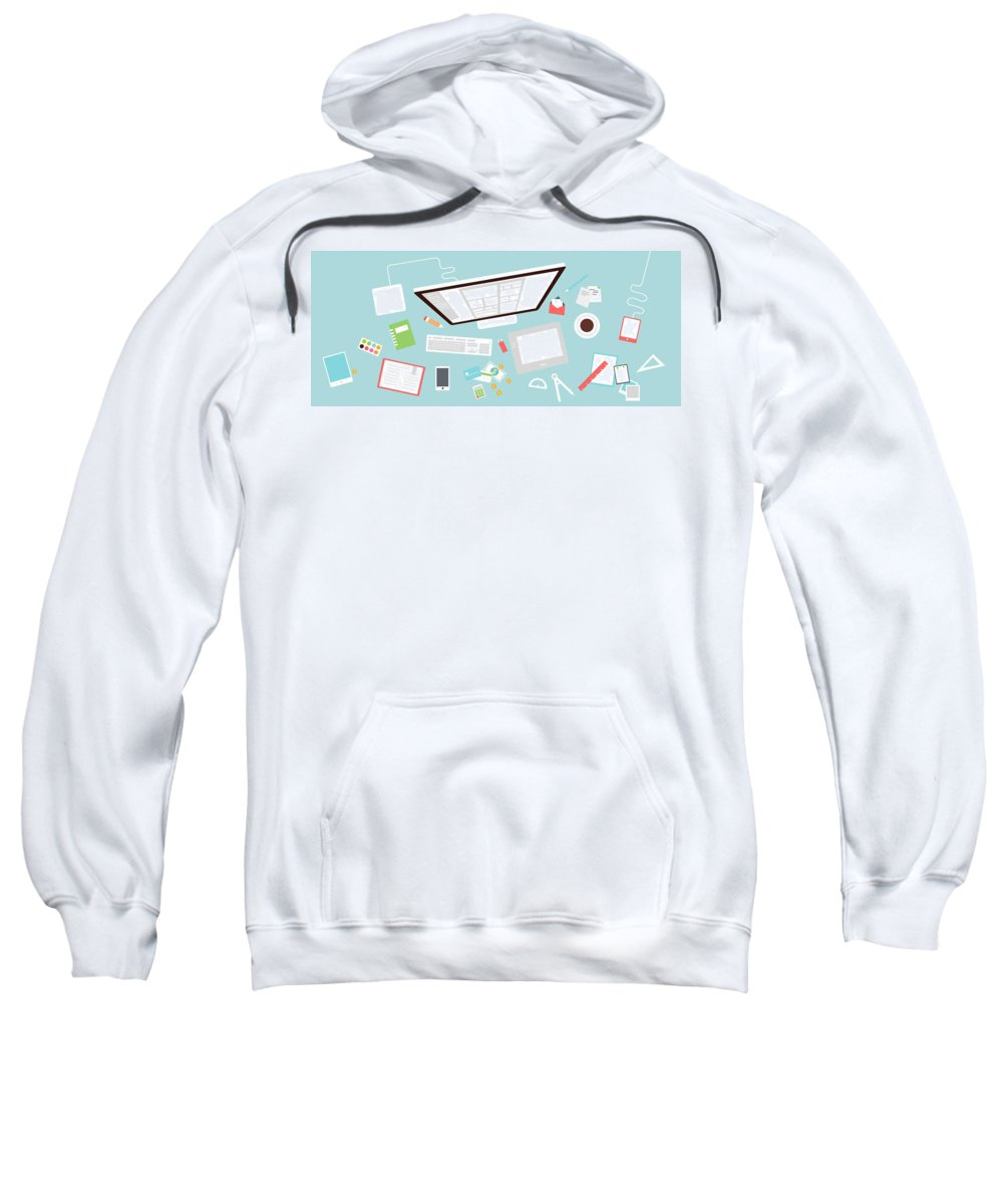 Clone Scripts Sweatshirt featuring the photograph Appkodes - Customize Your Clone Scripts To The Best by App Kodes