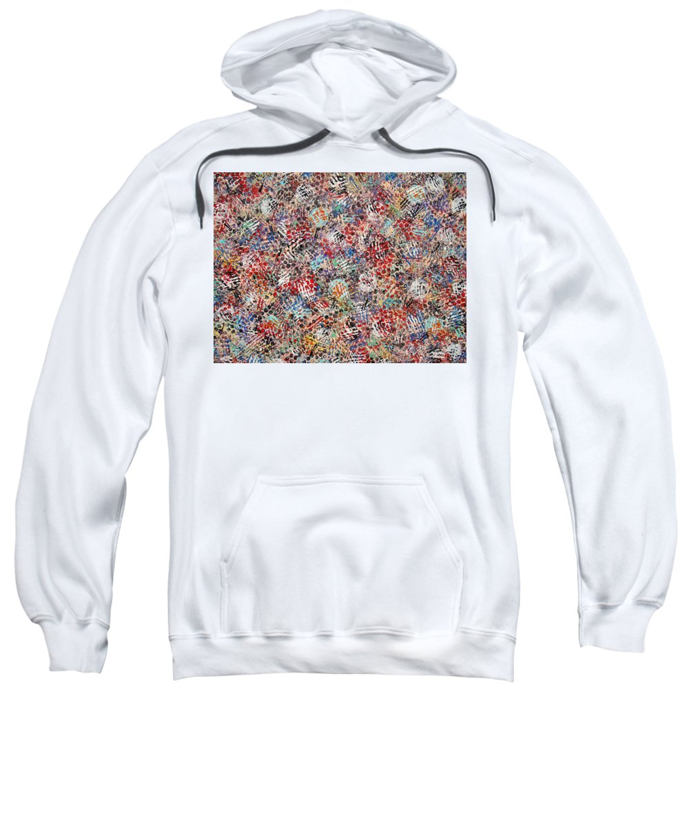 Golf Sweatshirt featuring the painting Golf by Natalie Holland