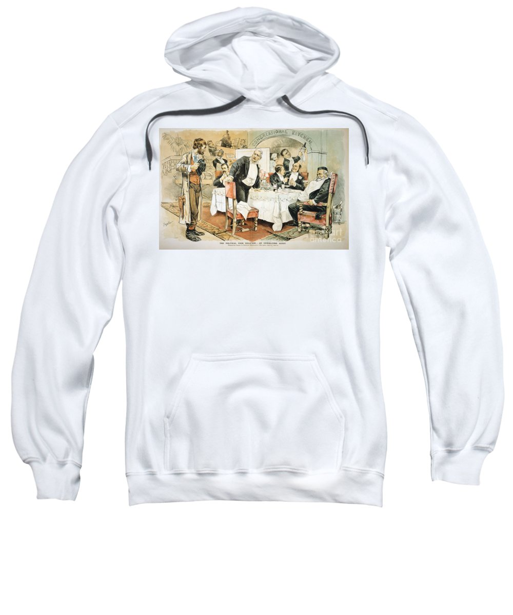 1888 Sweatshirt featuring the painting Populist Movement by Granger