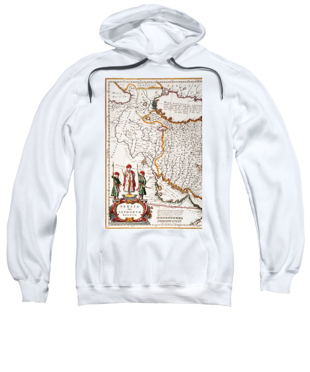 1662 Sweatshirt featuring the painting Mesopotamia, 1662 by Granger