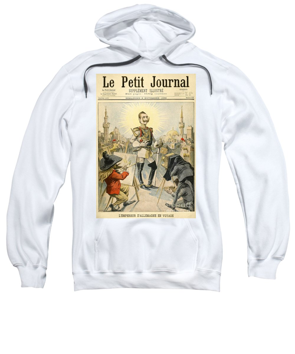 1898 Sweatshirt featuring the painting William II Of Germany by Granger