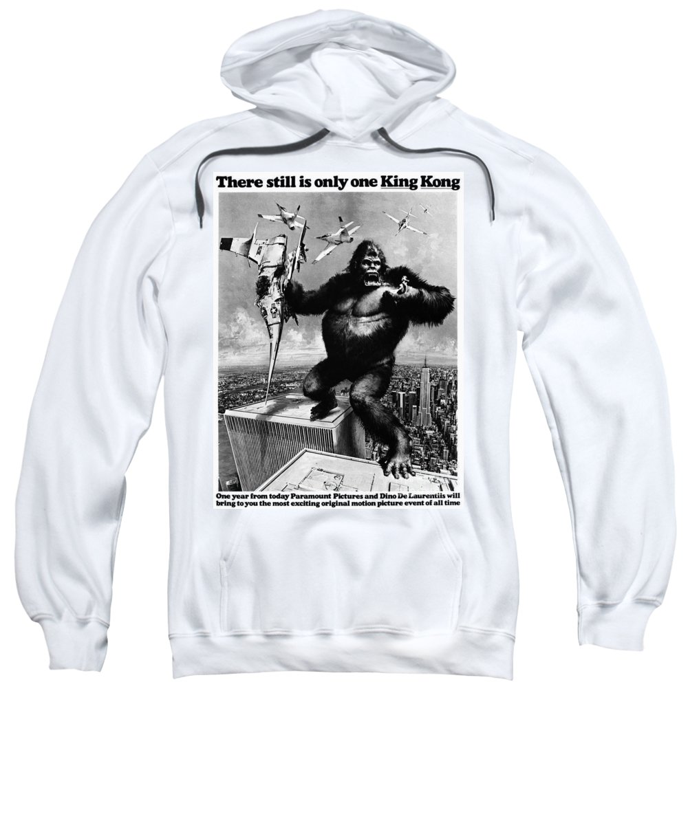 1975 Sweatshirt featuring the painting King Kong, 1976 by Granger