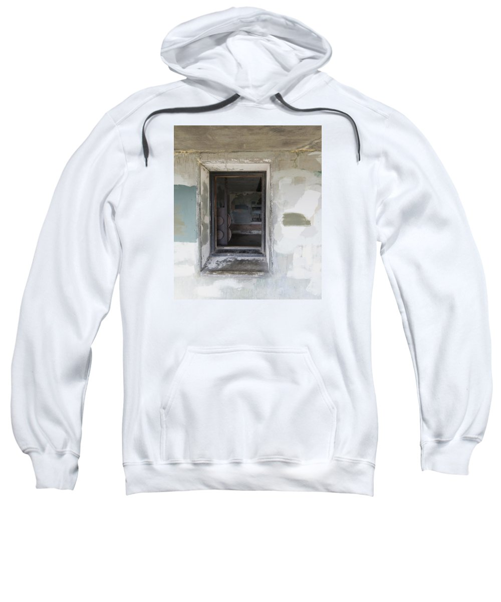 Window Sweatshirt featuring the photograph 7-A by Garth Pillsbury