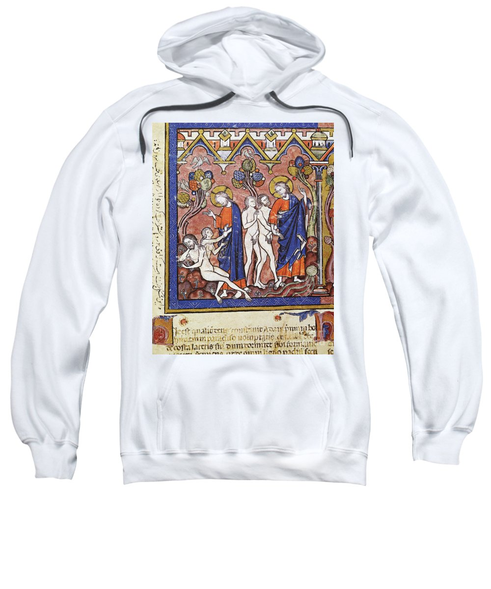 1250 Sweatshirt featuring the photograph Adam And Eve by Granger
