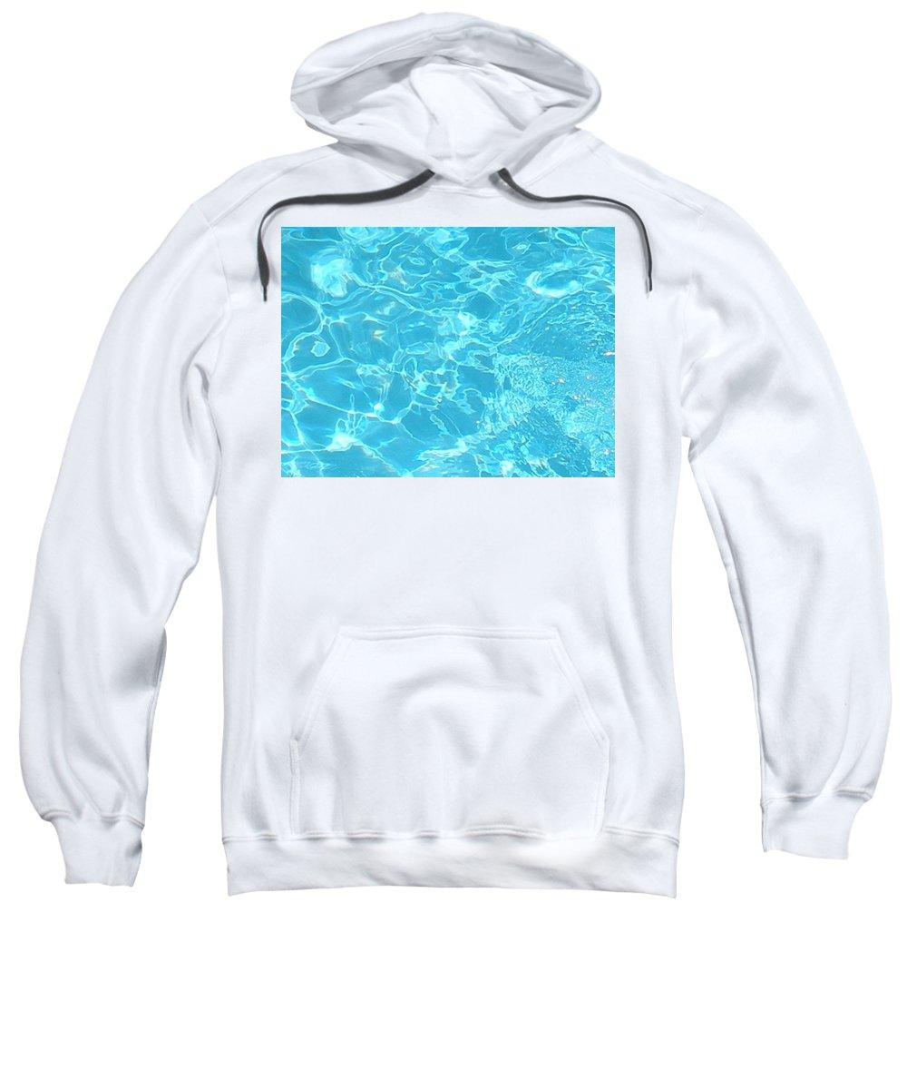 Water Sweatshirt featuring the photograph Aquatica by Maria Bonnier-Perez