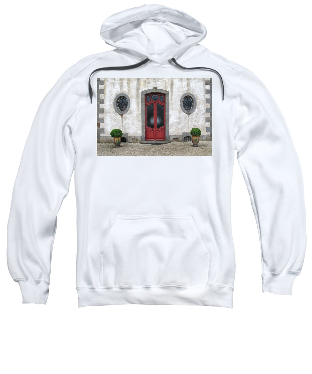 Door Sweatshirt featuring the photograph Art Deco Door by Dave Mills